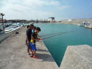 釣りはガマンが大事!釣れるかな?